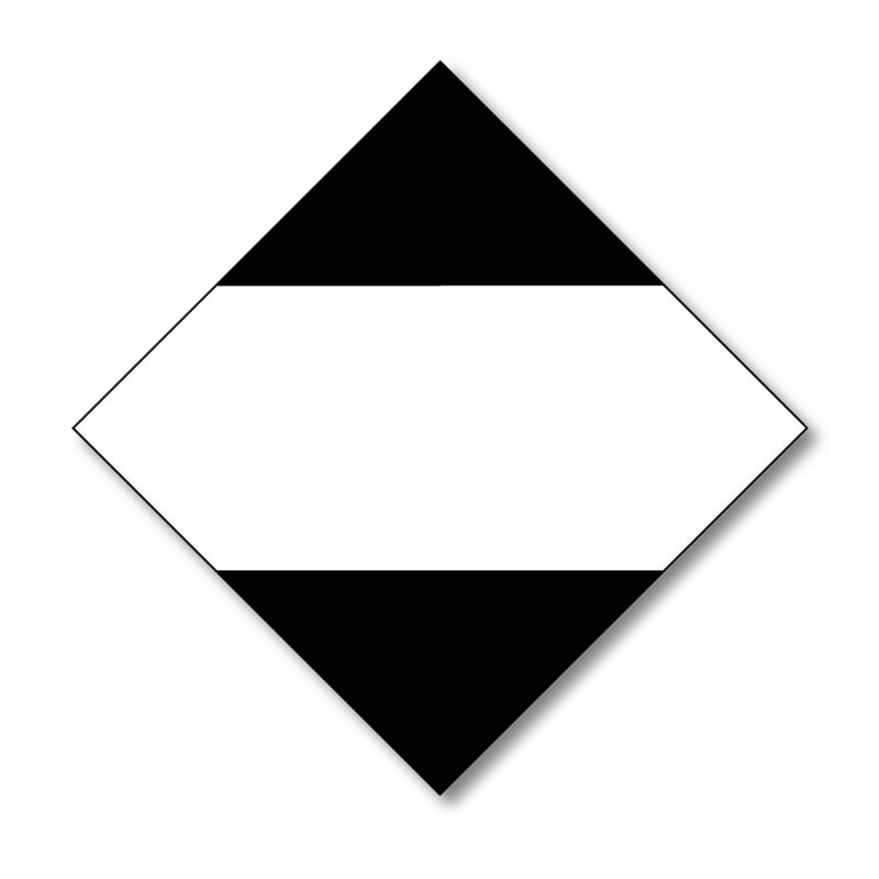 Hazard Warning Diamond