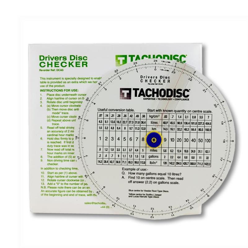 Checker Cab London >> Tachograph Chart Checker