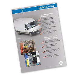 Safe Loading of Vans - A2 Wall Poster