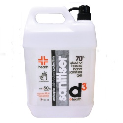 Hand sanitiser 5ltr pump container