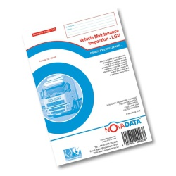 Vehicle Maintenance Inspection (LGV) Book