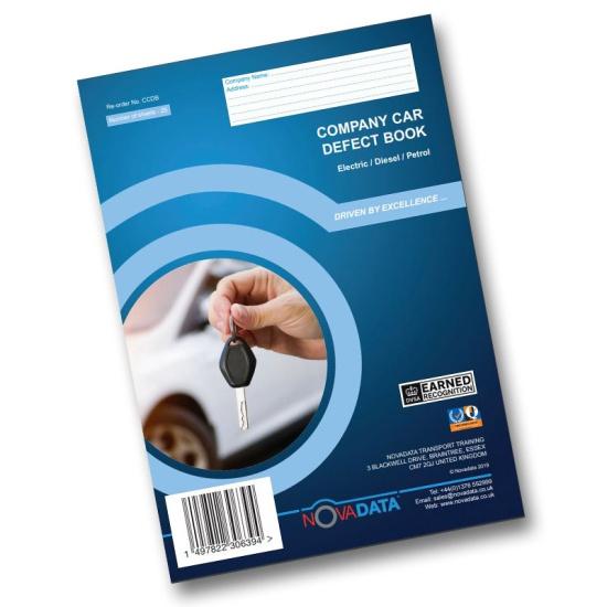 Company car defect book